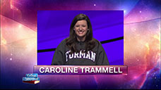 [Jeopardy! 2018 College Championship - Caroline Trammell]