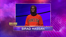 [Jeopardy! 2020 College Championship - Sirad Hassan]