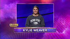 [Jeopardy! 2020 College Championship - Kylie Weaver]