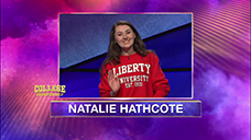 [Jeopardy! 2020 College Championship - Natalie Hathcote]