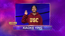 [Jeopardy! 2020 College Championship - Xiaoke Ying]