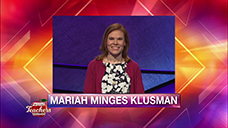 [Jeopardy! 2019 Teachers Tournament - Mariah Minges Klusman]