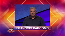 [Jeopardy! 2019 Teachers Tournament - Francois Barcomb]
