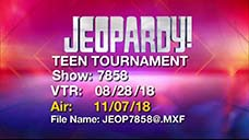 [Jeopardy! 2018 Teen Tournament - Title Slate]