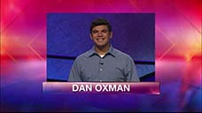 [Jeopardy! 2018 Teen Tournament - Dan Oxman]