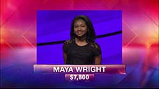 [Jeopardy! 2018 Teen Tournament - Maya Wright]
