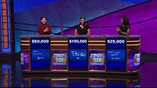 [Jeopardy! 2018 Teen Tournament - Finals special image #1]