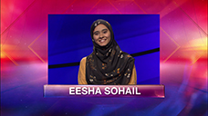 [Jeopardy! 2019 Teen Tournament - Eesha Sohail]
