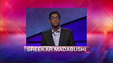[Jeopardy! 2019 TeeTeenment - Sreekar Madabushi]