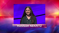 [Jeopardy! 2019 Teen Tournament - Hannah Nekritz]