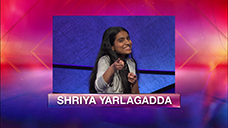 [Jeopardy! 2019 Teen Tournament - Shriya Yarlagadda]