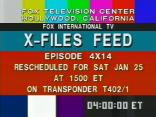 [X-Files Refeed Slate]